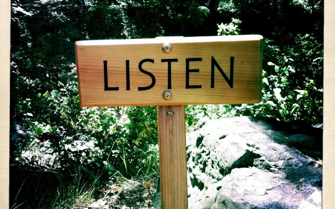 Listen on Purpose