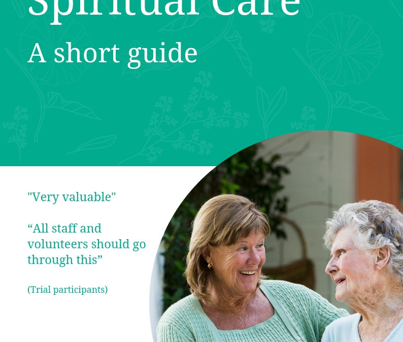 'Frailty' and Spiritual Care: A Short Guide